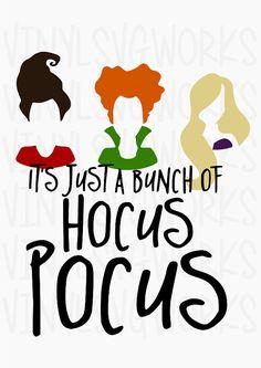 Hocus Pocus SVG FILE