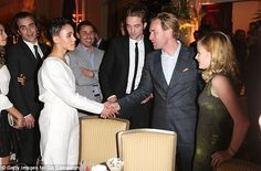Meeting a hero? It became quite an event when FKA was introduced to Hollywood royalty Ewan...