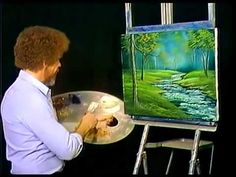 Bob Ross   Bubbling Brook   Joy of Painting
