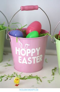 Personalized Easter Egg Pails In Just 10 Minutes from thecelebrationshoppe.com