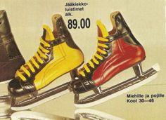 70-luvulta, päivää !: Anttilan tuoteluettelot Prince Caspian, High Top Sneakers, Sneakers Nike, Good Old Times, Finland, 1970s, Retro Vintage, Nostalgia, Old Things