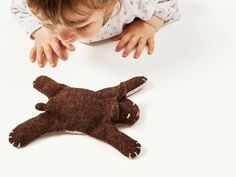 DIY tutorial: Sew a Bobcat Softie via DaWanda.com