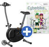Bigben Cyberbike - Magnetic Edition Zwart Wii