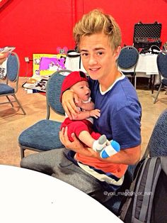 Jack J and baby Grayson