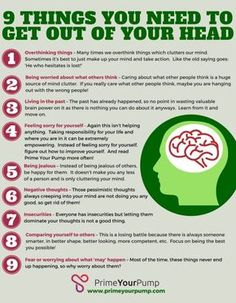 how to clear your mind Just as a messy workplace or cluttered house can hurt your productivity, a mind full of clutter can do just as much, or more, damage! Today we will look at how to clear your mind by divesting some of the stuff going on in your head. Clear Your Mind, Make Up Your Mind, How To Relax Your Mind, Train Your Mind, Trauma, Mental And Emotional Health, Self Care Activities, Self Improvement Tips, Psychology Facts