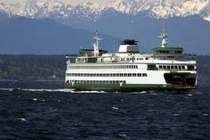 ferry in the Puget Sound of Washington state