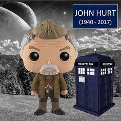 Hoje o universo Doctor Who amanheceu mais triste... Faleceu ontem o ator John Hurt, o War Doctor, vítima de um câncer. Além de War Doctor, o ator interpretou diversos personagens no mundo geek, como Garrick Olivaras (Harry Potter), Kane (Alien, o oitavo passageiro) e Chanceler Adam Sutler (V de Vingança). Que o War Doctor continue eternamente a viajar em sua Tardis... #funko #funkopop #funkomania #doctorwho #wardoctor #johnhurt #harrypotter #vforvendetta #alien #kane #garrickolivaras #geek
