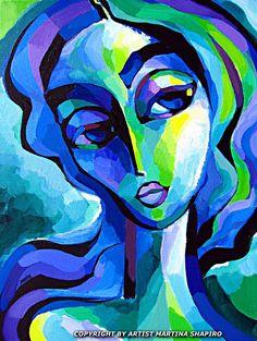 Martina Shapiro「Blue and Green」