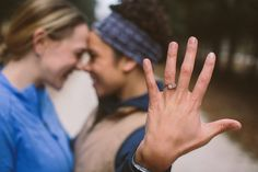 22 Cute Engagement Announcement Ideas You'll Want to Copy - Trust us—you won't want to spill the beans until you've seen these cute and creative engagement announcement ideas. ring hand outdoor cute {Thomas Van Veen/Documentary Associates} Creative Engagement Announcement, Engagement Photography, Engagement Photos, Real Couples, Documentary, Trust, Beans, Photoshoot, Wedding Ideas