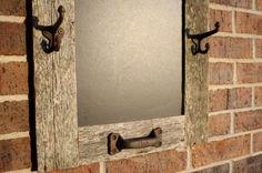 grey barn wood chalkboard