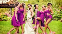 Best bridesmaid group shot EVERRRR!!