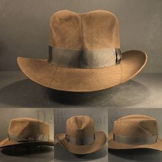 9bcf49d2643980 Just finished the #indianajones #raidersofthelostark #fedora #hat every  brim cut from a