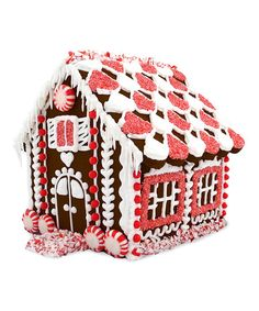 Brand Castle Chocolate Peppermint House Treat Set | zulily
