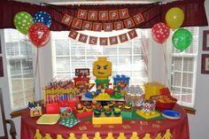 Lego themed party