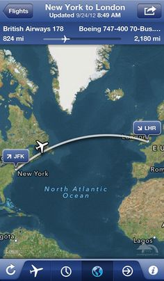 Top 4 Vacation Apps for Travel, Hotel Booking, Flight & Local Guide · TechMagz Flight Status, Flights To London, Virgin Atlantic, British Airways, Atlantic Ocean, Jfk, Travel Tips, Travel Packing, Places To Visit