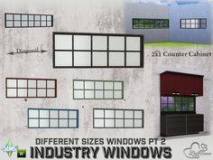 BuffSumm's Industry Windows Full Counter Cabinet 2x1