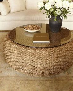 Driftwood Coffee Table, Diy Coffee Table, Modern Coffee Tables, Easy Coffee, Coffee Ideas, Modern Table, Diy Crafts For Home Decor, Easy Home Decor, Home Decor Trends