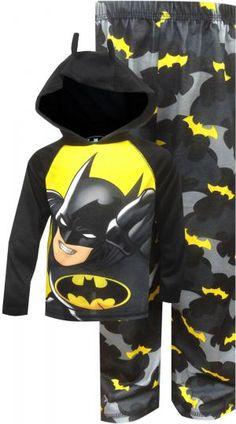 DC Comics Batman Hooded Pajama