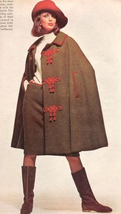 Fashion, 1960s - I love this!!