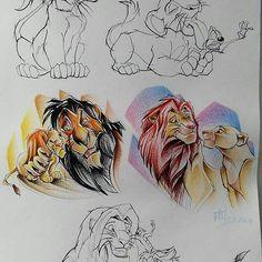 Finiquitados de momento estos dos. Agosto es el mes de los Leones y las Leonas. Reyes y Reinas! Y como buena Leona que soy, esto no podía faltar! Pronto daremos color a estos diseños, aunque si os molan corred a guardarlos! No se repetirán! Envía DM📩 o WA 648274384. Barcelona.  #sketch #sketchbook #design #lionking #lion #liontattoo #simba #disneytattoo #tatts #august #tatuagem #tattooink #tattooist #tattooer #tatuajes #tattooink #tattoolife #tattooworkers #ink #amazingink #inkmagazine…