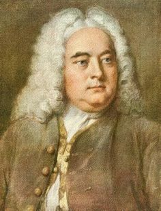 Georg Friedrich Handel, who was so taken with a message from God that he wrote the entire Messiah in almost two weeks...and after suffering a stroke which affected his writing hand.