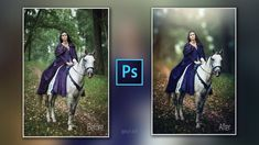 Photoshop cc Tutorial: Fantasy Photo Effect (Forest Queen)