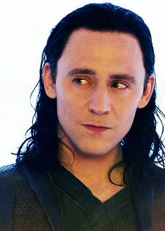 "Tom Hiddleston ""Loki"" From http://russian-hiddlestoner.tumblr.com/post/100252828077 Paintshopping by me"