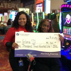 Congratulations to Saturday's jackpot winner, Gloria! She found her #winningmoment of $1,301! Jackpot Winners, Casino Hotel, Congratulations, Dating, Quotes