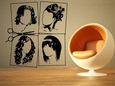 Wall Room Decor Art Vinyl Sticker Mural Decal Hair Beauty Salon Spa Large AS1210 #3M