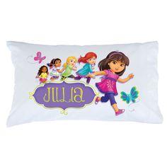 Dora and Friends Hola Amigas Pillowcase - Bedding & Blankets - Decor | Tv's Toy Box