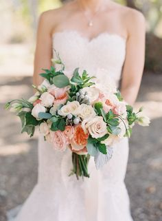 Photography: Caroline Tran - www.carolinetran.net   Read More on SMP: http://www.stylemepretty.com/2015/05/19/blush-gray-elegant-vineyard-wedding/