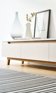 The Mikkel TV Stand is a simple modern Nordic design from Kure