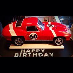 Corvette Cake On Pinterest Ferrari Cake Mustang Cake