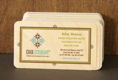 Wow, check it out! @kiastora's business card is up as an inspiration sample on Night Owl Paper Goods!