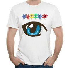 Take a breather and catch up with my blog💥 New in our shop! Autism Eye Design Short Sleeves T Shirt Men... https://autasticshop.tumblr.com/post/164720851533