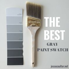 The Best Gray Paint Swatch - Sherwin-Williams