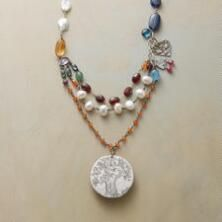 A Jes MaHarry sterling silver and gemstone necklace with an irrepressible beauty