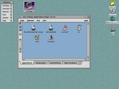 Screenshot of SGI IRIX 6.5 running 4dwm.