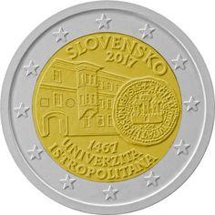diseños finalistas 2€ cc Eslovaquia 2017