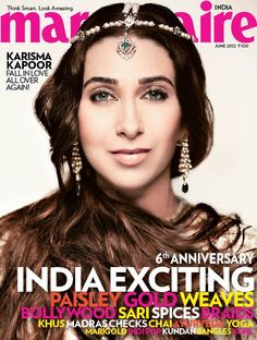 Karishma Kapoor in Marie Claire India, June 2012