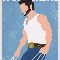 Super hero - more information : http://utopiie.com/blog/2012/01/04/affiches-de-super-heros-par-gautam-singh-rawat/