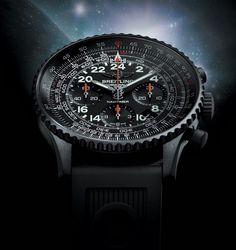 Breitling Blacksteel Navitimer Cosmonaute $9,590