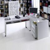büromöbel weiß hochglanz