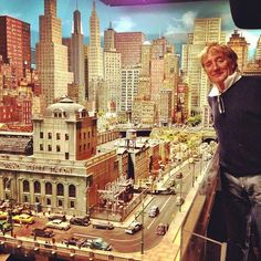 https://flic.kr/p/iG43q3 | Rod Stewart and his model train layout. It is not well known that Rod is an avid fan of model trains.