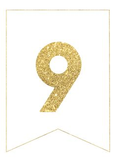 gold free printable banner letters rolas party pinterest