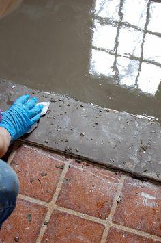 Diy Home Exterior On Pinterest Concrete Porch Home Repair And Peeling Paint