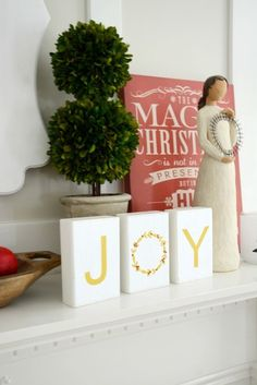 JOY Wood Blocks - Th