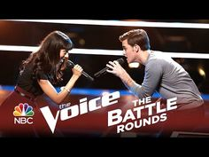 "▶ The Voice 2014 Battle Round - Ricky Manning vs. Brittany Butler: ""On Broadway"" - YouTube"