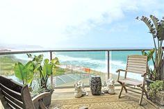Beautiful ocean views from balcony