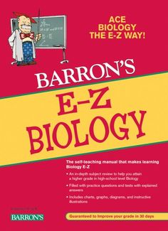 E-Z Biology -  	     	              	Price: $  5.81             	View Available Formats (Prices May Vary)        	Buy It Now      Known for many years as Barron's Easy Way Series,  the new editions of these popular self-teaching titles are now Barron's E-Z Series.  Brand-new cover designs reflect all new page...
